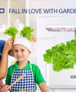 hydroponics LED growing system kit