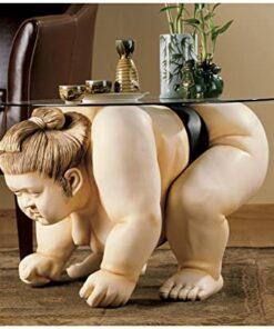 Sculpture End Table
