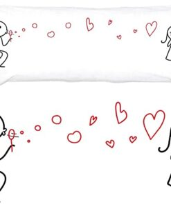 Romantic Pillow Cover