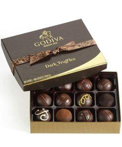 Dark Chocolate Truffles Gift Box