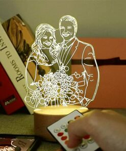 Personalized Photo 3D Crystal Lamp