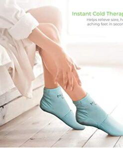 Gel frozen slipper