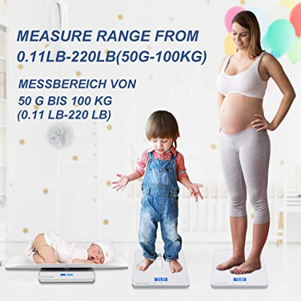 Baby, toddler & pet scale