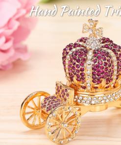 Royal Crown Carriage Ring Box