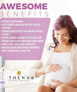 Pregnancy belly & body oil