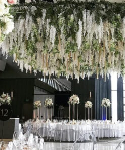 Hanging bush flowers garland