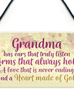 Grandma Floral Sign