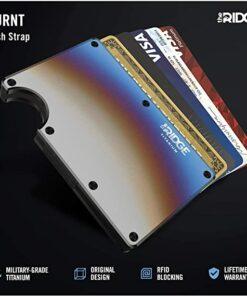 The Ridge Titanium Metal Wallet