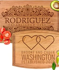 Personalized Cutting & Cheese Board