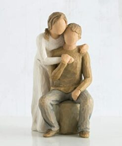 You and me sculpted figure