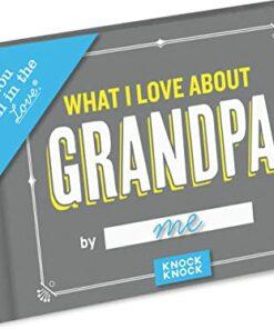 Grandpa Fill in the Love Book