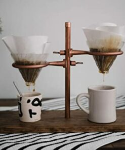 Double pour coffee stand