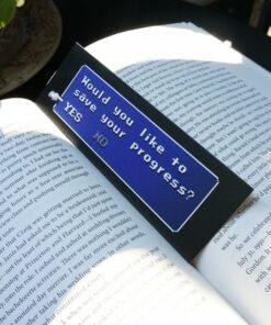 Laminated Bookmark