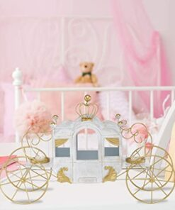 Cinderella Carriage Candle Holder