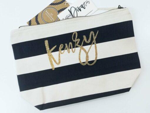 Personalized Makeup Bag
