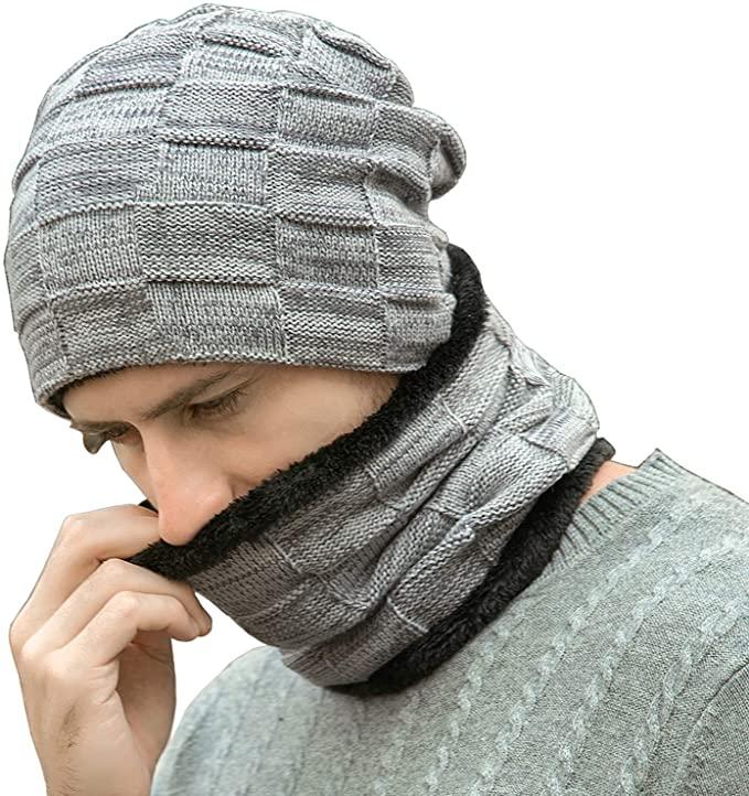 Hat & Scarf For Men