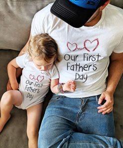Infant Bodysuit & Men's T-Shirt