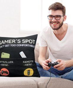 Pillow Cover & Gamer Socks
